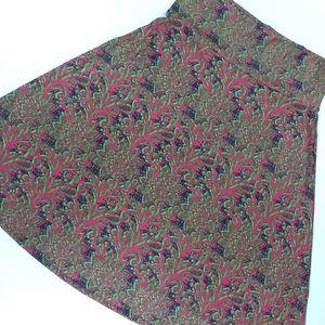 NWT LuLaRoe Azure Skirt 🌺 Gorgeous Colors & Comfy